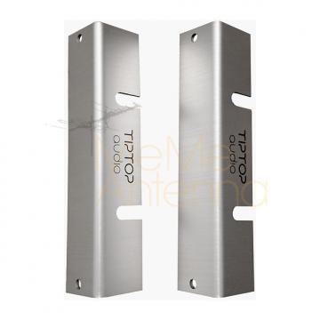 Custom Tiptop Audio Z-Ears Standard Rack Mount (Silver, Pair) - Eurorack Module Rack Parts