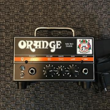 Custom Orange Amps Micro Dark 20-watt Hybrid Head