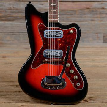 Custom Silvertone Model 1478 Silhouette Sunburst 1960s