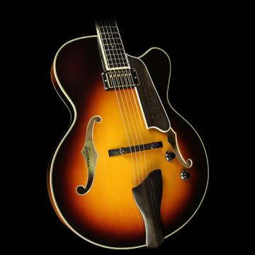 Custom Eastman T146SM Thinline Archtop Electric Guitar Sunburst