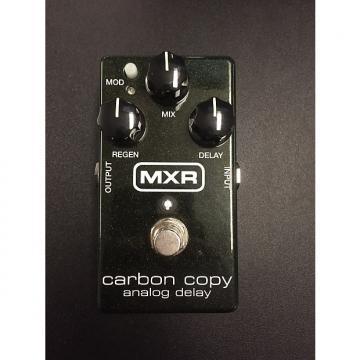 Custom MXR Carbon Copy Analog Delay Green