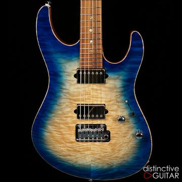 Custom Suhr Custom Modern Angel Quilt Blue Burst