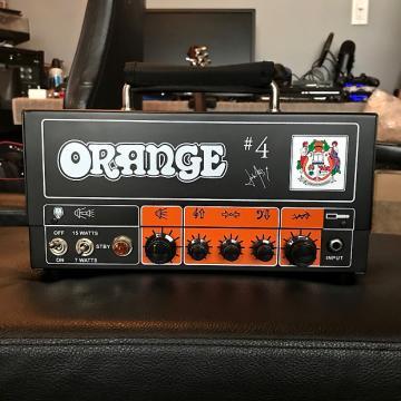 Custom Orange Tiny Terror TT15JR Jim Root Signature Head