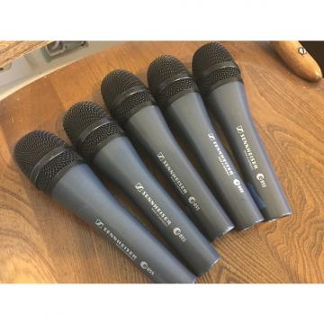 Custom Sennheiser Lot of 5 E855 Dynamic Microphones mics - GREAT DEAL