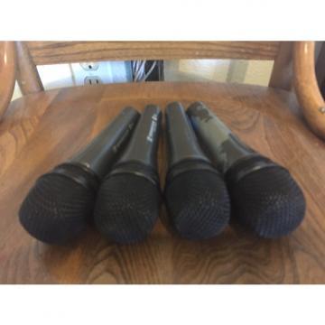 Custom Sennheiser Lot of 4 E835 Dynamic Microphones mics - GREAT DEAL
