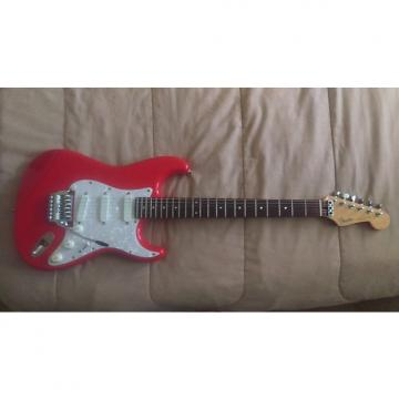 Custom Fender MIJ E Serial Number Stratocaster 1986 Fiesta Red