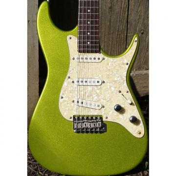 Custom Zion Radicaster  Candy Lime Metallic