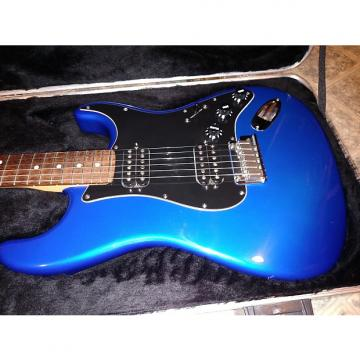 Custom Fender Stratocaster Double Fat Deluxe 2004 Chrome Blue