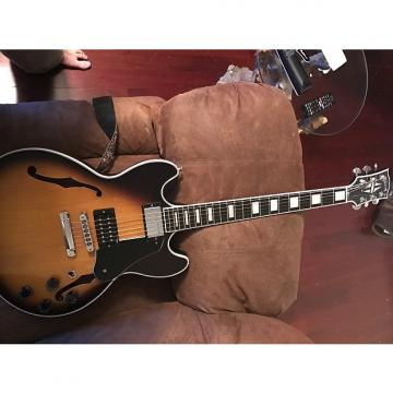 Custom Gibson Midtown Custom Sunburst