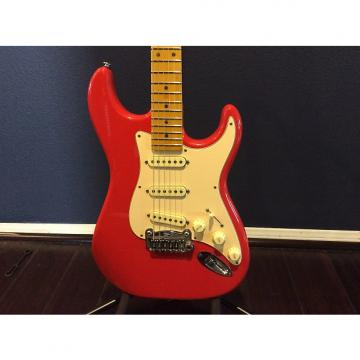 Custom G&L Legacy USA 2011 Beautiful Orange with Cream pickguard