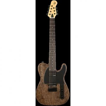 Custom Michael Kelly 507 Black Burl 7-string Electric Guitar - NEW