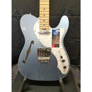 Custom Fender Elite Telecaster Thinline 2016 Mystic Ice Blue