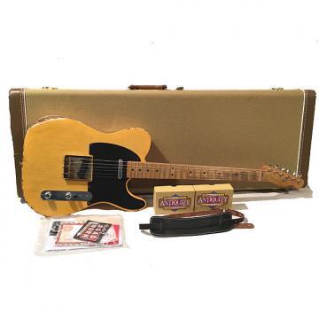 Custom Relic TW52 Fender 52 Reissue Blackguard Telecaster Duncan Antiquity Pickups