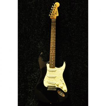 Custom USED Squier Stratocaster Black
