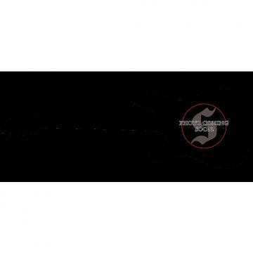 Custom Schecter Omen-6 Left-Handed Electric Guitar in Gloss Black Finish