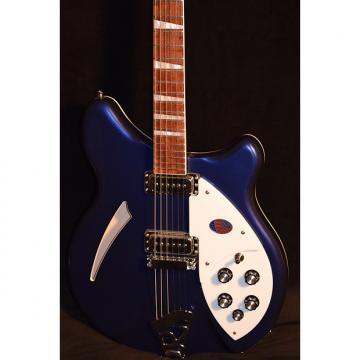 Custom Rickenbacker 360 Midnight Blue