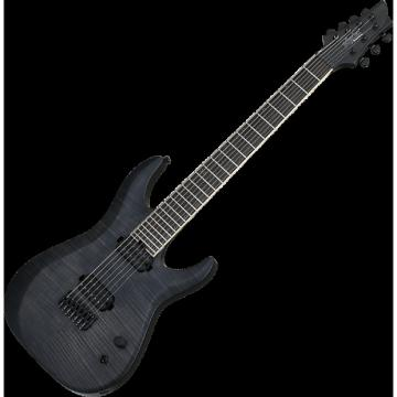 Custom Schecter Keith Merrow KM-7 MK-II Electric Guitar See-Thru Black Pearl