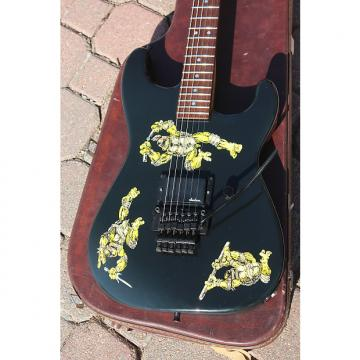 Custom 1988 Jackson USA Custom Shop Vintage Teenage Mutant Ninja Turtles TMNT Stratocaster Dinky Guitar
