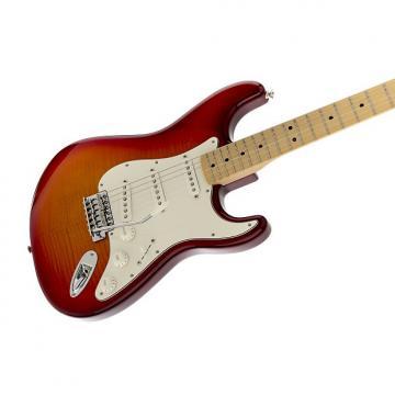 Custom Fender Standard Stratocaster Plus Top Aged Cherry Burst Maple