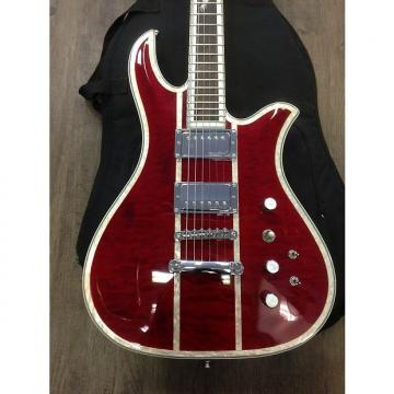 Custom B.C. Rich Classic Deluxe Eagle Electric Guitar (RED)