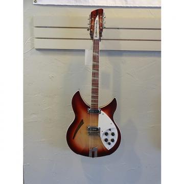 Custom Rickenbacker 360/12 VR 64 - 12 String 2005 Cherry Burst Firegio