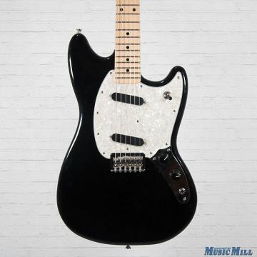 Custom 2016 Fender Offset Series Mustang Electric Guitar Black