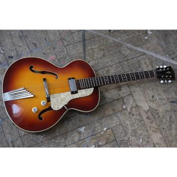 Custom Hofner Senator Thinline 1964 Red Sunburst