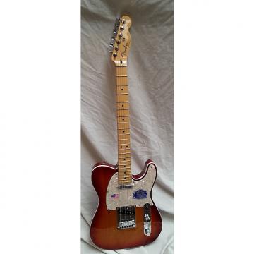 Custom Fender American Deluxe Telecaster 2015 Aged Cherry Sunburst NOS