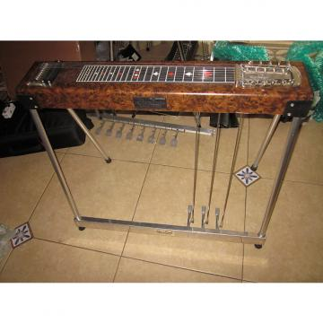 Custom Sho Bud Maverick 1970-74 Brown Woodgrain 3X1 W/ Case and Tone Bar!