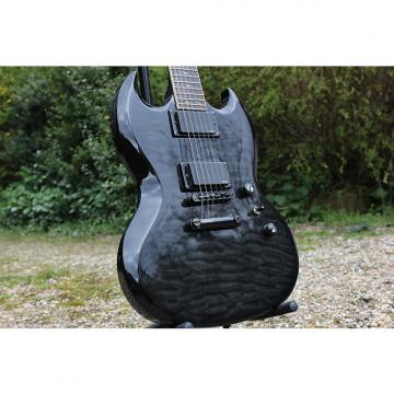 Custom Epiphone SG Prophecy Black Quilted Maple