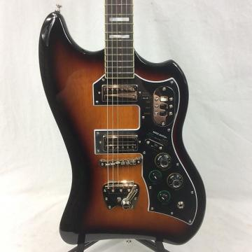 Custom Guild S-200 TBird Solid Body Electric Guitar Antique Burst With Gig Bag