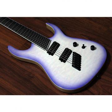 Custom Halo Custom Guitars Merus 7 String Multi-Scale Fanned Fret Bare Knuckle Juggernauts Luminlay