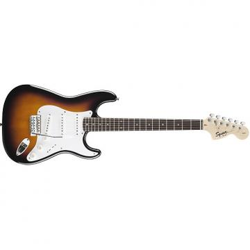 Custom Squier Affinity Series™ Stratocaster® Brown Sunburst