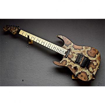 Custom Charvel Left Handed Warren DeMartini Signature 2016 Snakeskin Lefty Guitar