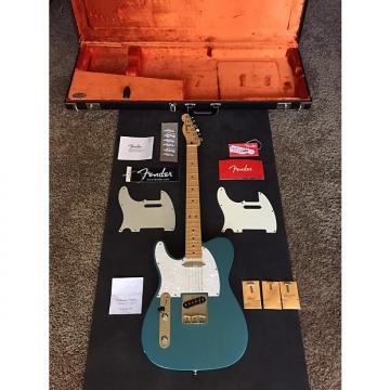 Custom Fender Standard Telecaster Left Handed 2015 Lake Placid Blue