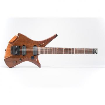 Custom Downes Guitars Model 101H7 - Walnut-top 7-string