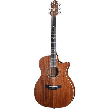 Custom Crafter TE 6MH/BR Acoustic Guitar Mahogany Top