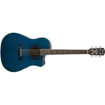 Custom T-Bucket™ 300CE Transparent Blue Quilt Maple - Default title