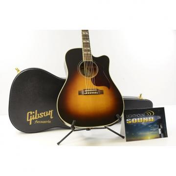 Custom 2013 Gibson Hummingbird Pro Acoustic-Electric Guitar - Vintage Sunburst w/OHSC