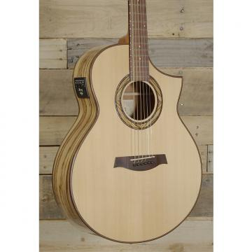 Custom Ibanez Exotic Wood AEW23ZW-NT 1201 Acoustic Electric Guitar Natural Finish