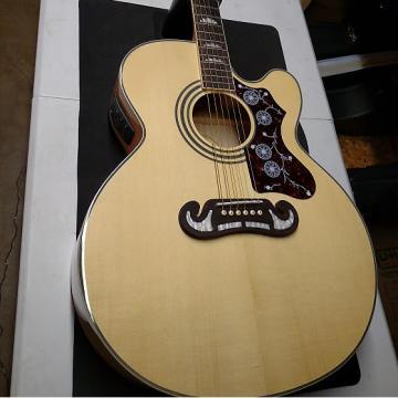 Custom Epiphone   EJ-200SCE Southern Jumbo Acoustic/Electric Guitar 2016