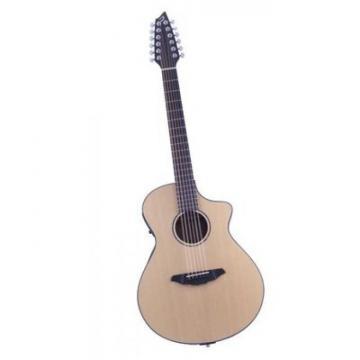 Breedlove Atlas Solo C350/SRE12 Model Sitka Top Acoustic Guitar With Hard Case