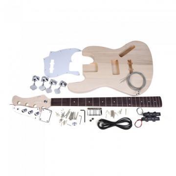 Custom Shop Unfinished Jazz Bass Kit Solid Body
