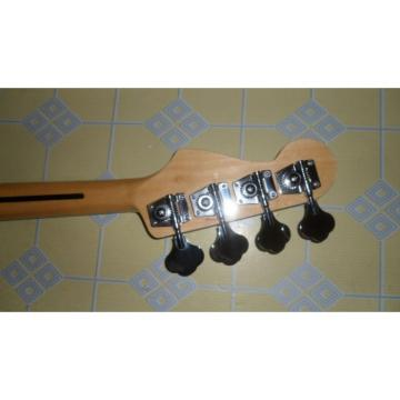 Custom Shop Red Fender Jazz Bass