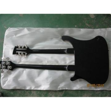 Custom Shop Double Neck Black Bass