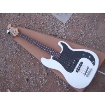 Custom Fender White Precision Bass