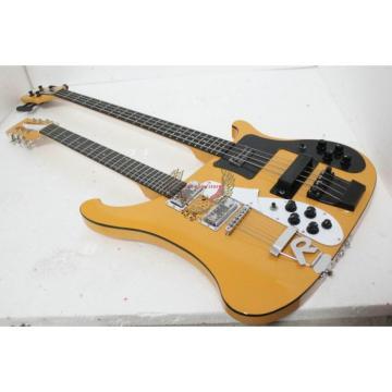 Custom 4003 Double Neck Rickenbacker Natural Bass