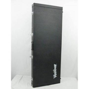 Washburn Black Tolex Hard Case Flying V Style Electric Guitar