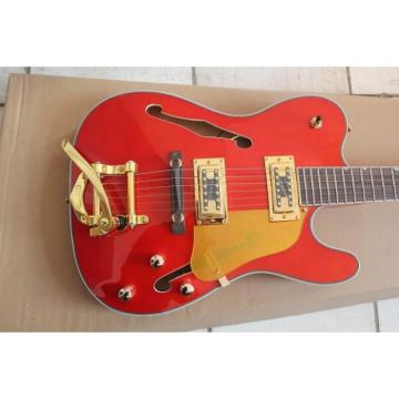 Fender Semi Hollow Red 2 Pickups Electric Jazz