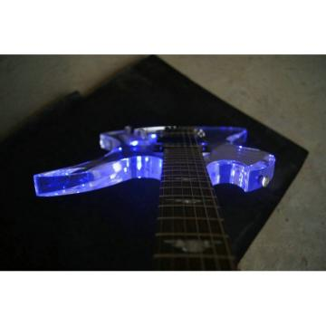 Fernandes Burny MG-360s Acrylic Mocking Bird Electric Guitar BC Rich